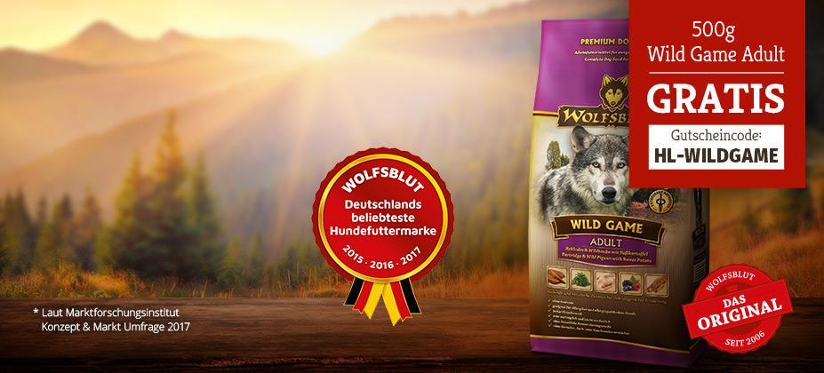 Wolfsblut Wild Game Adult testen