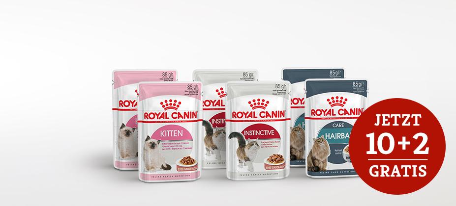 Royal Canin Nassfutteraktion auf ausgewählte Sorten