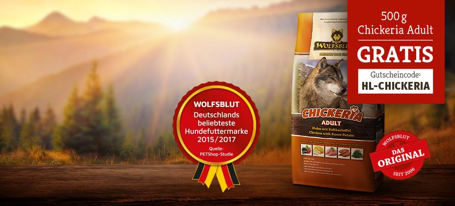 Wolfsblut Chickeria testen
