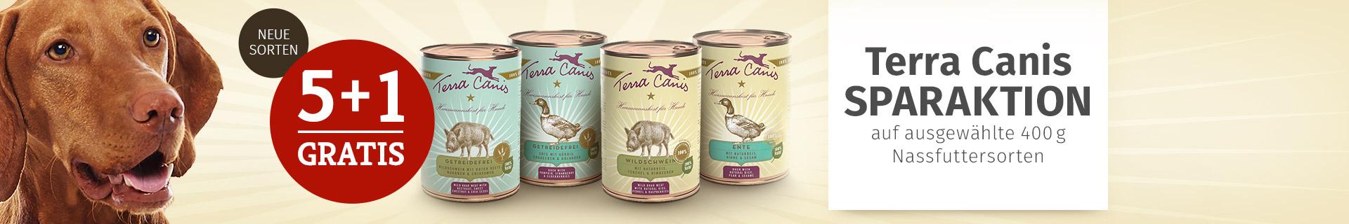Terra Canis 5+1 Nassfutteraktion