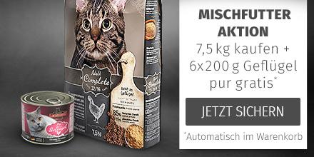 Leonardo 7,5kg Trockenfutter + 6x200g Geflügel pur gratis