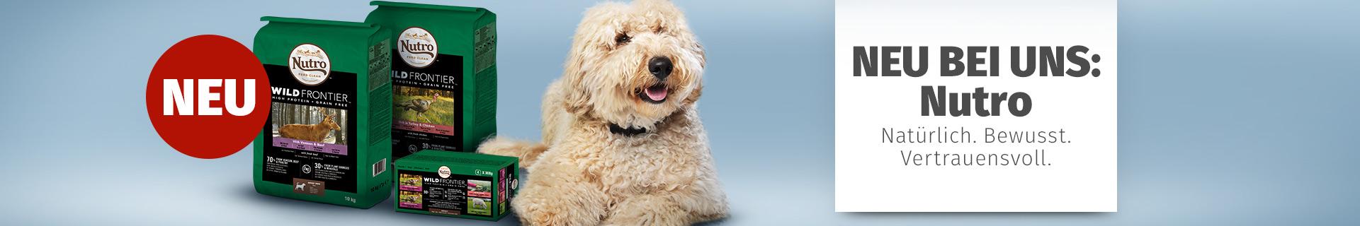 Nutro Hundefutter mit hohem Fleischanteil