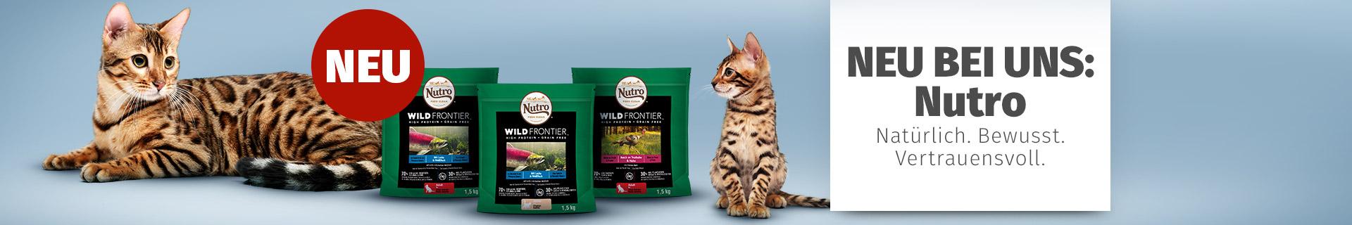 Nutro Katzenfutter mit hohem Fleischanteil
