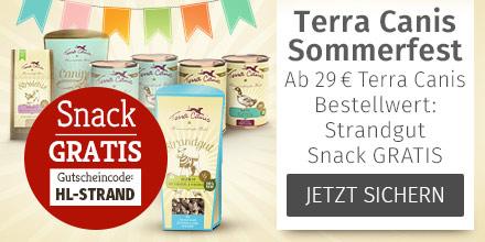 Terra Canis Snack Strandgut gratis ab Terra Canis Mindestbestellwert 29 Euro
