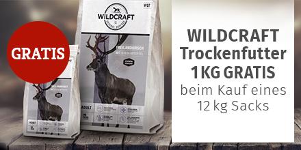 Wildcraft - 12kg Trockenfutter Sack kaufen + 1kg derselben Sorte gratis