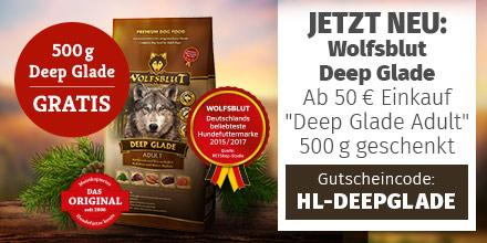 Wolfsblut Deep Glade 500g geschenkt ab 50 EUR Einkauf