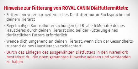 Royal Canin Veterinary Diet Diätfutter für Katzen