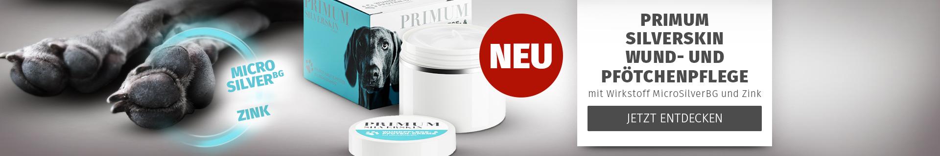 PRIMUM - Jetzt neu: SilverSkin Pfötchenpflege