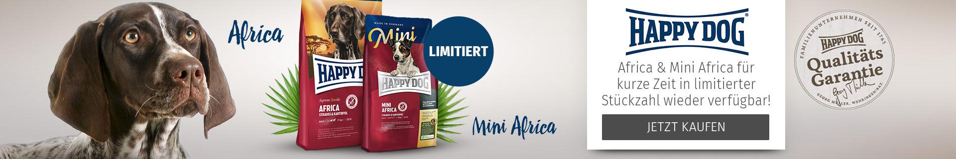 Happy Dog Trockenfutter Africa