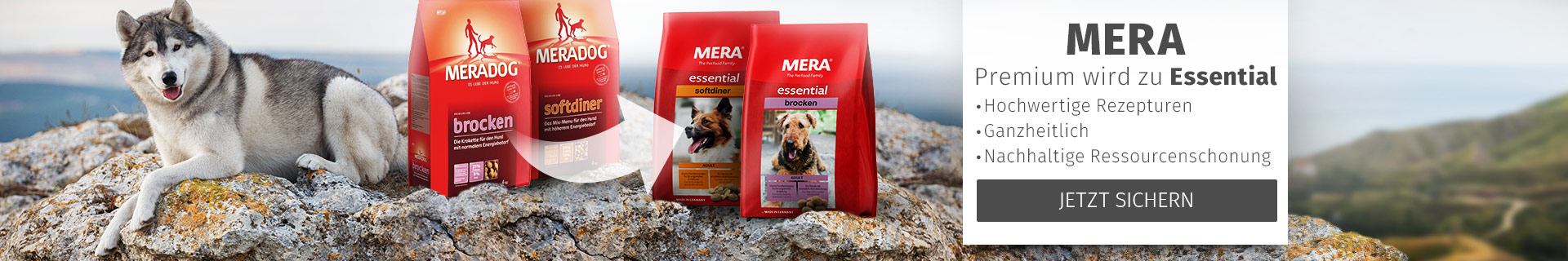 Mera Premium wird Essential
