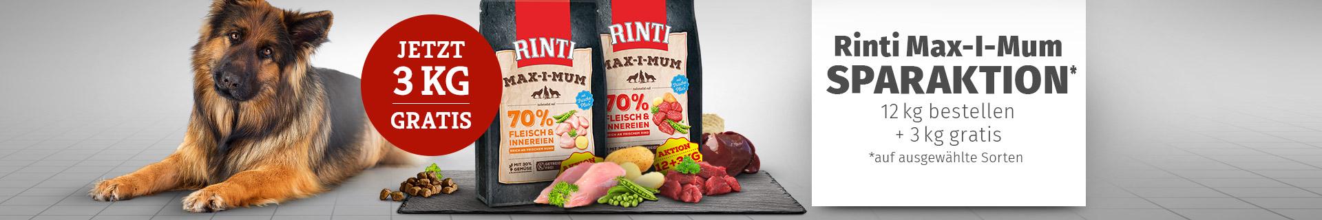 Rinti Max-I-Mum Sparaktion 12kg bestellen + 3 kg gratis