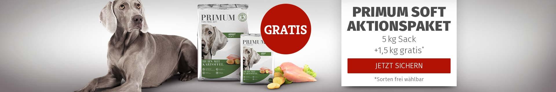 PRIMUM - 5kg Softfutter Sack + 1,5kg gratis