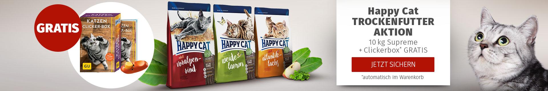 Happy Cat Trockenfutter Aktion