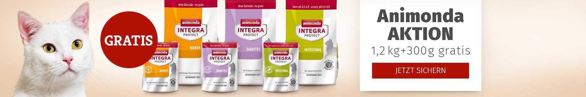 Animonda Aktion 1,2kg kaufen + 300g gratis