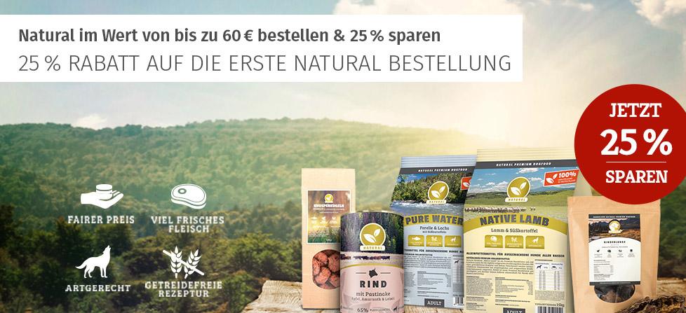 Natural 25% Aktion