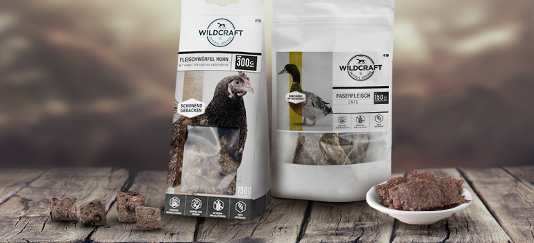 Zu Wildcraft Hundesnacks