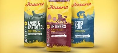 Josera Trockenfutter für Hunde