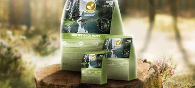 Natural Trockenfutter für Welpen mit Ente