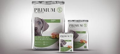 PRIMUM Softfutter für Welpen mit Huhn