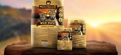Wolfsblut Trockenfutter für Welpen mit Ente