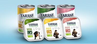 Yarrah Bio-Nassfutter für Hunde
