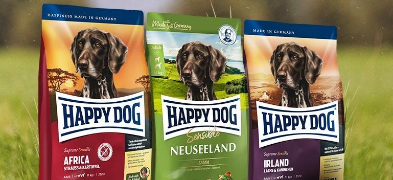 Happy Dog Trockenfutter für Hunde