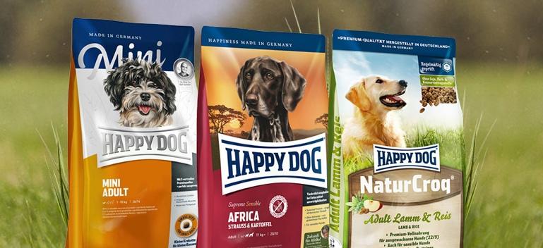 Zu Happy Dog Trockenfutter