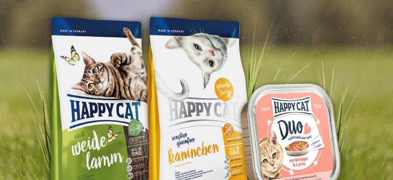 zu allen Happy Cat Produkten