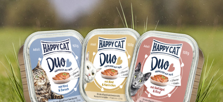 Zu Happy Cat Nassfutter